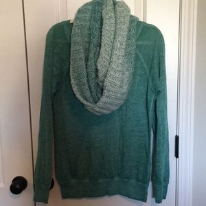 Maurices Sweatshirt and Scarf